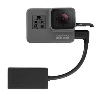 GoPro AAMIC-001 3.5mm Mic Adapter for HERO5 Black and HERO5 Session