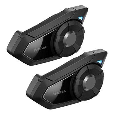 SENA 30K Motorcycle Bluetooth with Mesh Intercom Dual Pack