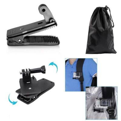 GoPro Hero Accessories Kit Robustrion 12 in 1 Mounts, Straps