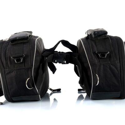 U-Series Motorcycle Saddle Bag (Orange)