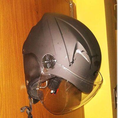 Helmet Holder – Bike Keys, Jacket, Laptop Bag, Helmet Hanger. Wall mountable. Ball Model