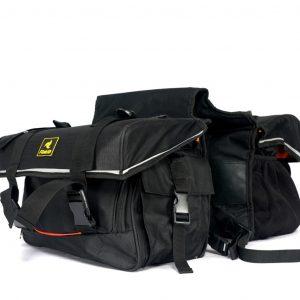 Raida Luggage Combo(GPS Magnetic Tank Bag Grey+G- Series Saddle Bag)