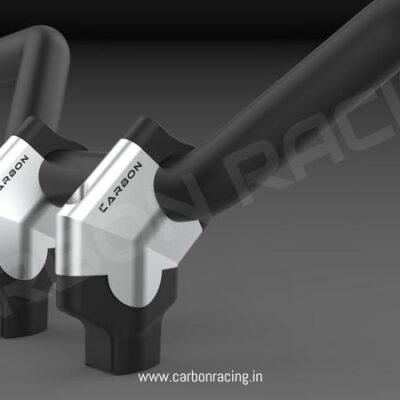 Angled Aluminum Handlebar Risers for KTM 390 Adventure