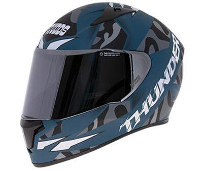 Studds Thunder Decor D7 Graphics Matt Helmet