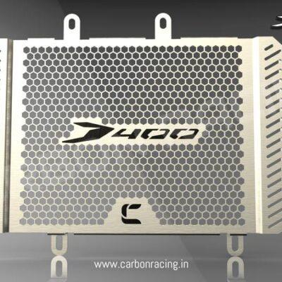 Aluminum Radiator Guard for Dominar 400 (All Years)