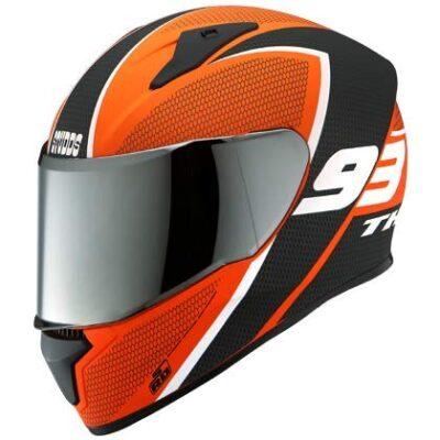 Studds Thunder Decor D3 Matt Helmet