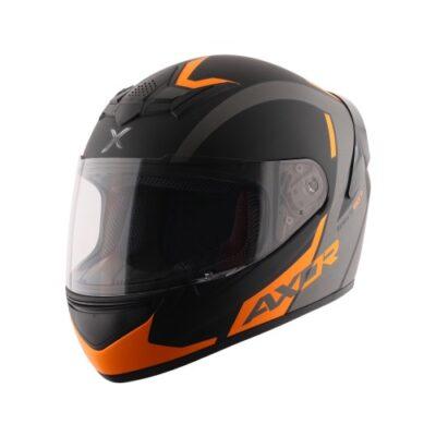 AXOR RAGE RTR Black Neon Yellow Helmet